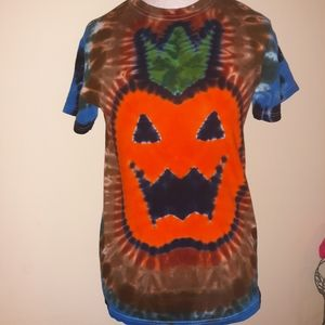 Handcrafted tie dye shirt